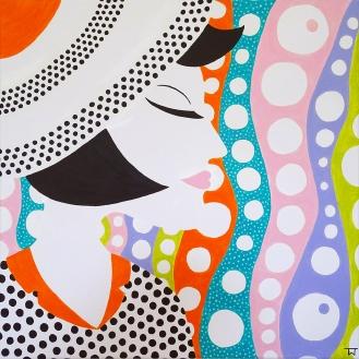 Portrait of a Lady - Bubbles