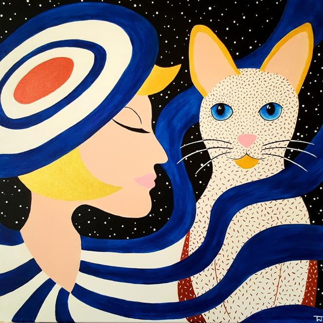 Portrait of a Lady - Katze
