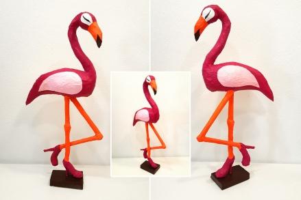Skulptur_Flamingo